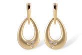 F230-69506: EARRINGS .03 TW
