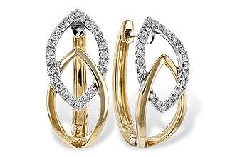 K235-25897: EARRINGS .25 TW