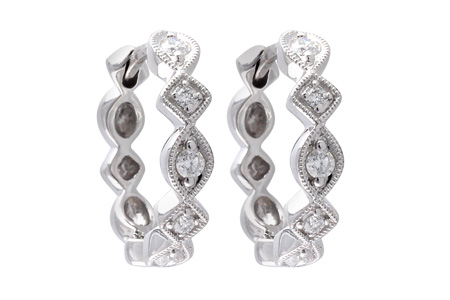 B047-00370: EARRINGS .22 TW