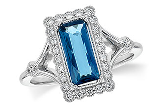 E236-14988: LDS RG 1.58 LONDON BLUE TOPAZ 1.75 TGW