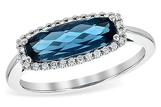 G236-14079: LDS RG 1.79 LONDON BLUE TOPAZ 1.90 TGW
