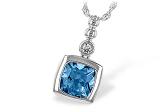 L235-23133: NECK 1.45 BLUE TOPAZ 1.49 TGW