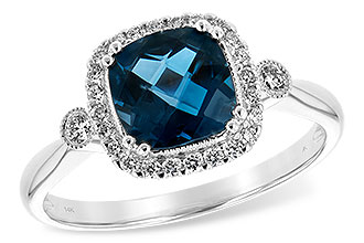 M235-19479: LDS RG 1.62 LONDON BLUE TOPAZ 1.78 TGW